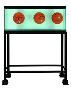 Three Ball Total Equilibrium Tank_(Dr.J Silver Series), 1985 © Jeff Koons