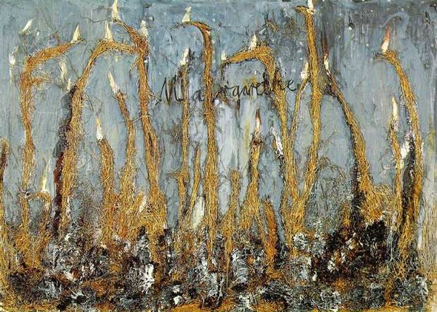 Margarethe by Anselm Kiefer