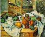 Un coin de table - Paul Cézanne