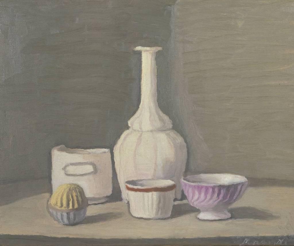 Still Life 1946 by Giorgio Morandi 1890-1964