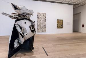 Jackson Pollocks schilderij Number 27, 1950, midden