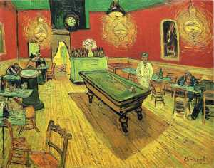 The night cafe - Vincent Van Gogh
