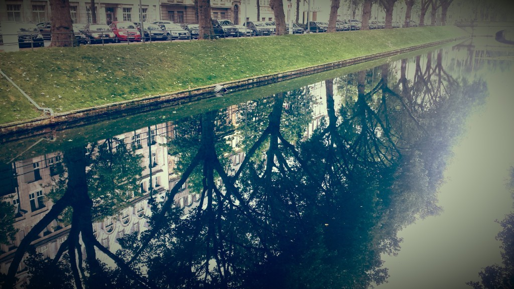 Königsallee reflection