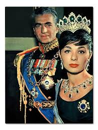 Sjah Reza Pahlavi en Farah Diba