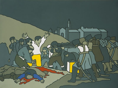 The Third of May - After Goya, 1970, by Robert Ballagh